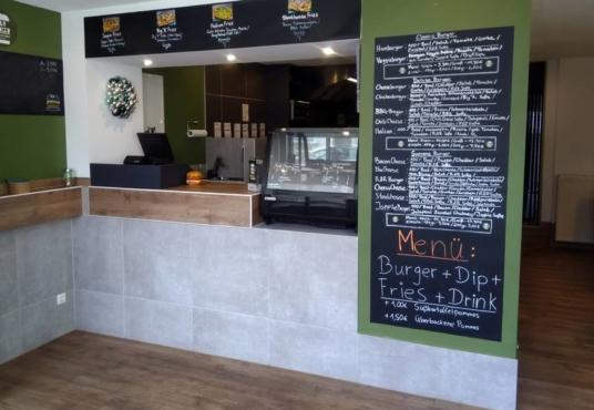 R&R Burger in Hameln Innenansicht