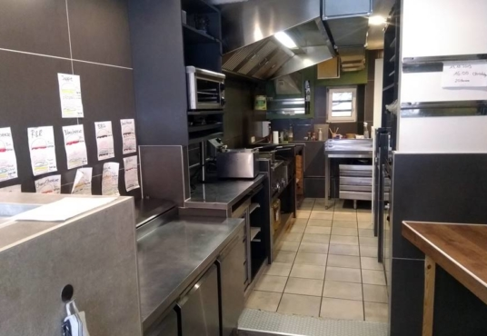 R&R Burger in Hameln Küchenbereich